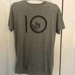 Grey TenTree T-Shirt